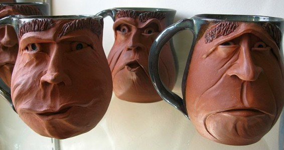 Debbie Englund Face Mug group