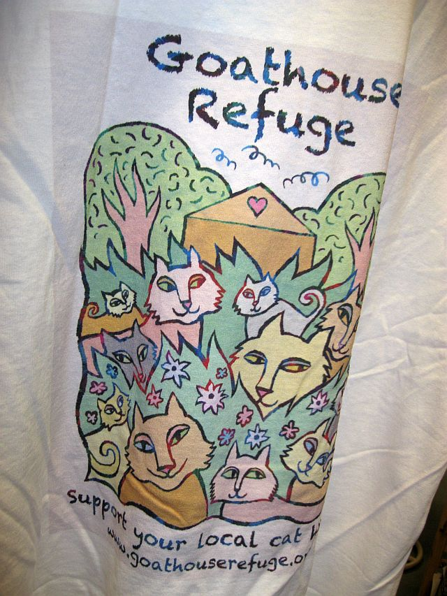 Goathouse Cat Refuge T-shirt