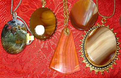 Sharon Blessum necklaces