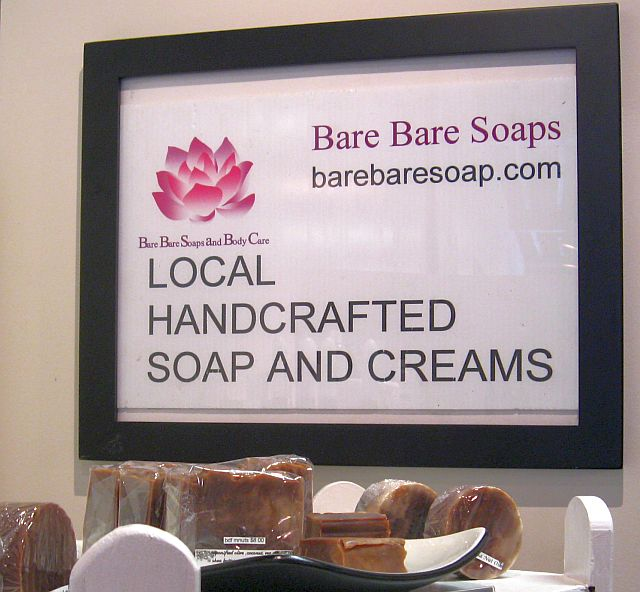 Bonnie Franklin new soaps & lotions